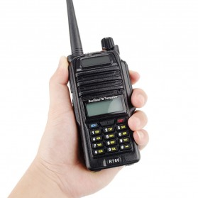 Taffware Walkie Talkie Dual Band 5W 128CH UHF+VHF - BF-R760 - Black - 1