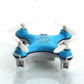 Cheerson CX-10 Mini Pocket Quadcopter Drone 2.4GHz - Blue