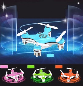 Cheerson CX-10 Mini Pocket Quadcopter Drone 2.4GHz - Blue - 3