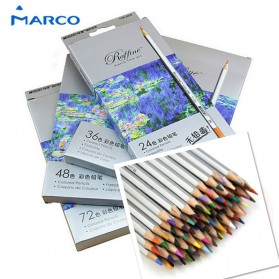 Marco Raffine Pensil Warna Drawing Sketches 48 Colors - Multi-Color - 1