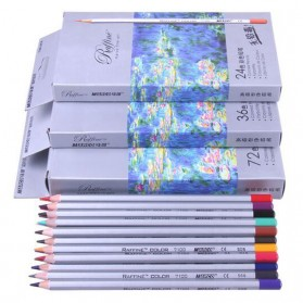 Marco Raffine Pensil Warna Drawing Sketches 48 Colors - Multi-Color - 5