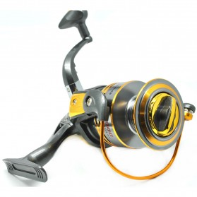 Debao Gulungan Pancing DB6000A Metal Fishing Spin Reel 10 Ball Bearing - Golden - 2