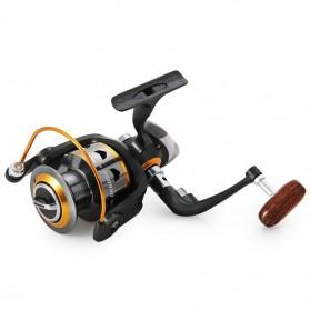 DIAO DE LAI Gulungan Pancing DK11BB - 6000 Series Metal  Fishing Spinning Reel 11 Ball Bearing - Golden - 2