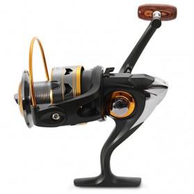 DIAO DE LAI Gulungan Pancing DK11BB - 6000 Series Metal  Fishing Spinning Reel 11 Ball Bearing - Golden - 4