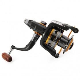 DIAO DE LAI Gulungan Pancing DK11BB - 6000 Series Metal  Fishing Spinning Reel 11 Ball Bearing - Golden - 5
