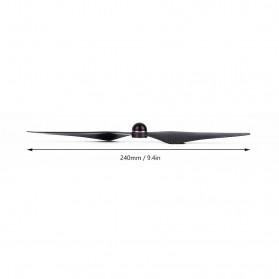 Baling-Baling DJI Phantom 4 Elf 9450S QR Carbon Paddle 2 PCS - Black - 8