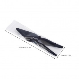 Baling-Baling DJI Phantom 4 Elf 9450S QR Carbon Paddle 2 PCS - Black - 9