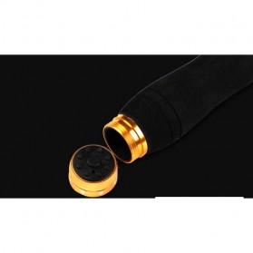 Mamba Joran Pancing Carbon Fiber Sea Fishing Rod 3 Segments 2.4M - Black - 8