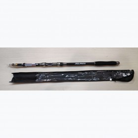 Mamba Joran Pancing Carbon Fiber Sea Fishing Rod 3 Segments 2.4M - Black - 13