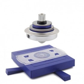 Gasing Terbang UFO Magnetic - Blue