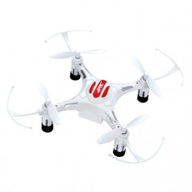 JRC H8 Drone Mini Pocket Quadcopter RC 2.4GHz 4CH 6-Axis - White