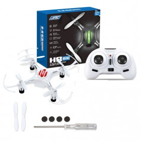 JRC H8 Drone Mini Pocket Quadcopter RC 2.4GHz 4CH 6-Axis - White - 4
