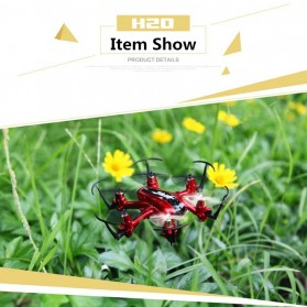 JJRC H20 Mini Drone Hexacopter 6 Axis 2.4G 4CH - Red - 6