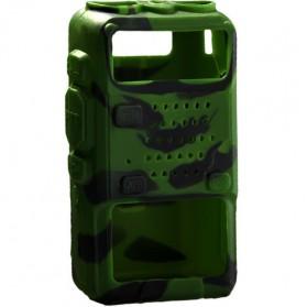 Silicone Case for Baofeng UV5R UV-5RA UV-5RB UV-5RC UV-5RD - Camouflage