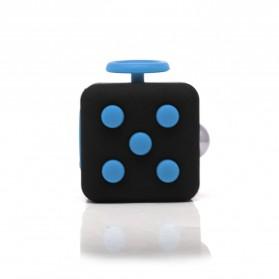 Mainan Pelepas Stress Fidget Cube - Black/Blue