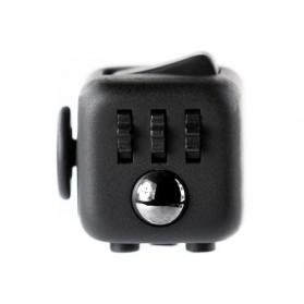 Mainan Pelepas Stress Fidget Cube - Black