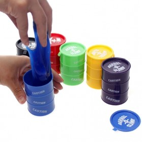 Barrel Slime 1 PCS (RANDOM COLOR) - Multi-Color - 2