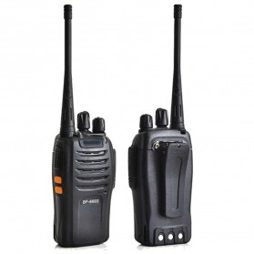 Taffware Walkie Talkie Single Band 5W 16CH UHF - BF-666S - Black