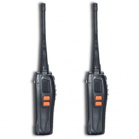 Taffware Walkie Talkie Single Band 5W 16CH UHF - BF-666S - Black - 3