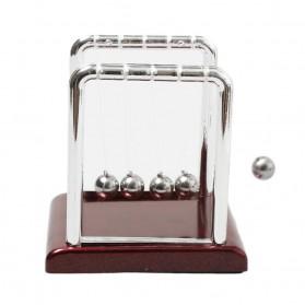 Pajangan Meja Pendulum Newton Size S - H50S - Brown