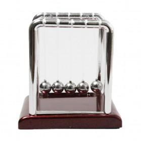 Pajangan Meja Pendulum Newton Size S - H50S - Brown - 4