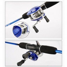 Reel Pancing Metal - Blue - 2