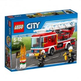 Lego City Fire Ladder Truck - 60107 - 1