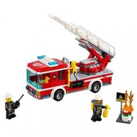 Lego City Fire Ladder Truck - 60107 - 2