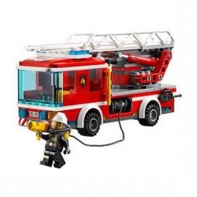 Lego City Fire Ladder Truck - 60107 - 3