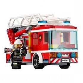 Lego City Fire Ladder Truck - 60107 - 4