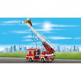 Lego City Fire Ladder Truck - 60107 - 6