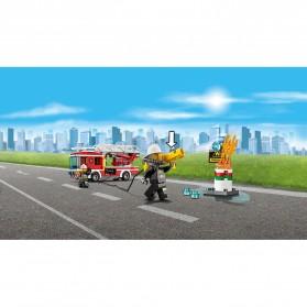 Lego City Fire Ladder Truck - 60107 - 7