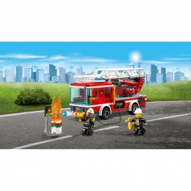 Lego City Fire Ladder Truck - 60107 - 8