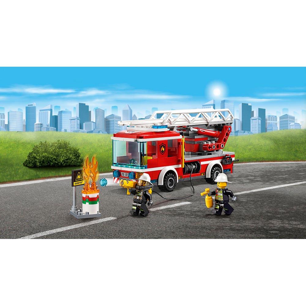 Lego City Fire Ladder Truck 60107 Jakartanotebookcom