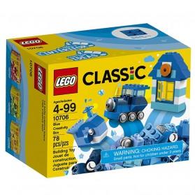 Lego Classic Blue Creativity Box - 10706 - 1