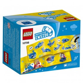 Lego Classic Blue Creativity Box - 10706 - 2