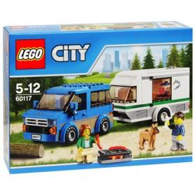 Lego City Great Vehicles Van & Caravan - 60117 - 1