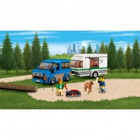 Lego City Great Vehicles Van & Caravan - 60117 - 2