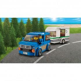 Lego City Great Vehicles Van & Caravan - 60117 - 3