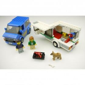 Lego City Great Vehicles Van & Caravan - 60117 - 6