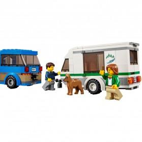 Lego City Great Vehicles Van & Caravan - 60117 - 7