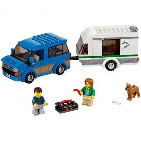 Lego City Great Vehicles Van & Caravan - 60117 - 8