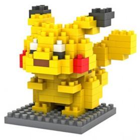 Pokemon Nano Block Pikachu - Multi-Color