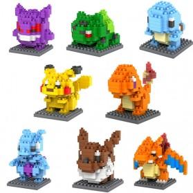 Pokemon Nano Block Charizard - Multi-Color - 2