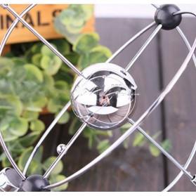 Pajangan Meja Orbital Kinetik - Silver - 3