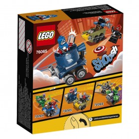 Lego Mighty Micros Captain America vs Red Skull - 76065