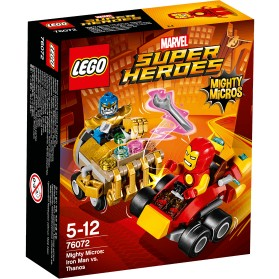 Lego Mighty Micros Iron Man vs Thanos - 76072