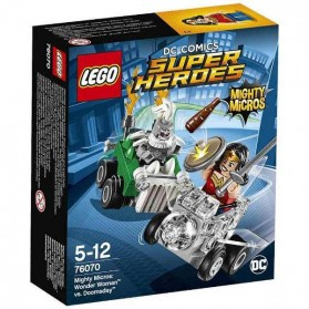 Lego Mighty Micros Wonder Woman vs Doomsday - 76070