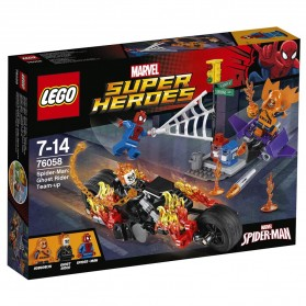 Lego Marvel Super Heroes Spiderman Ghost Rider Team Up - 76058