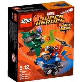 Lego Mighty Micros Spiderman vs Green Goblin - 76064